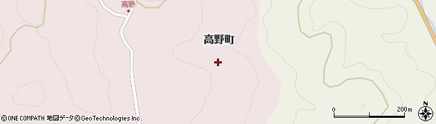 愛知県豊田市高野町(南)周辺の地図