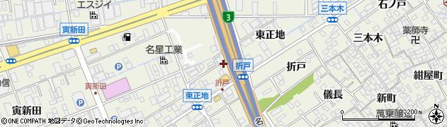 愛知県名古屋市緑区大高町(東正地)周辺の地図