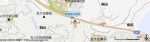 愛知県豊田市志賀町(桐山)周辺の地図