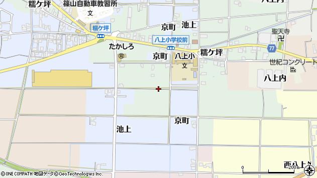 〒669-2437 兵庫県丹波篠山市糯ケ坪の地図