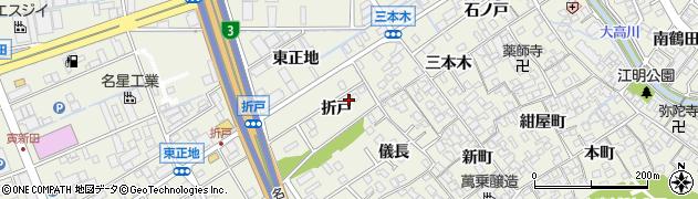 愛知県名古屋市緑区大高町(折戸)周辺の地図