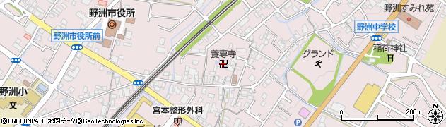 養専寺周辺の地図