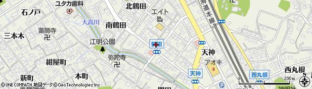 京周辺の地図