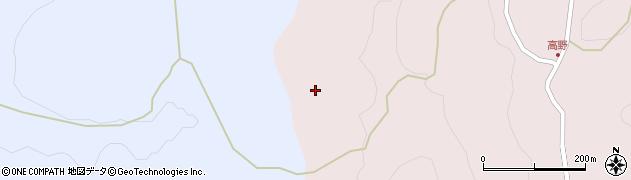 愛知県豊田市高野町(毛田)周辺の地図