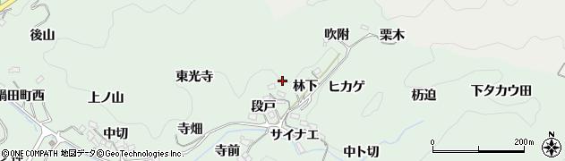 愛知県豊田市鍋田町(角池)周辺の地図