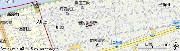 愛知県名古屋市緑区大高町(一番割)周辺の地図