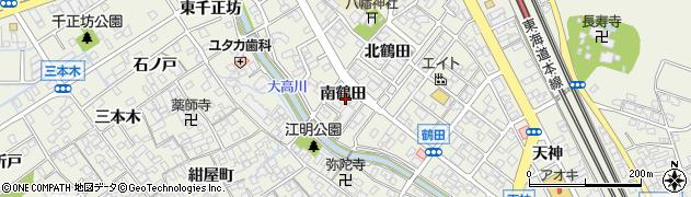 愛知県名古屋市緑区大高町(南鶴田)周辺の地図