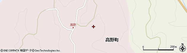 愛知県豊田市高野町(前田)周辺の地図