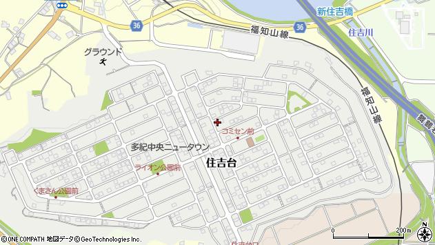 〒669-2231 兵庫県丹波篠山市住吉台の地図