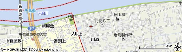 愛知県名古屋市緑区大高町(川添)周辺の地図