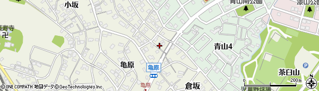 愛知県名古屋市緑区大高町(倉坂)周辺の地図