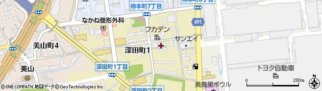 HIRO周辺の地図