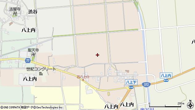 〒669-2431 兵庫県丹波篠山市八上下の地図