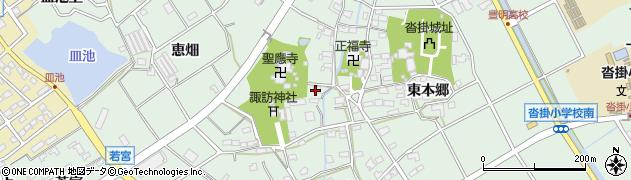 愛知県豊明市沓掛町(森元)周辺の地図