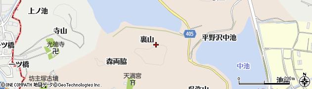 京都府亀岡市馬路町(裏山)周辺の地図