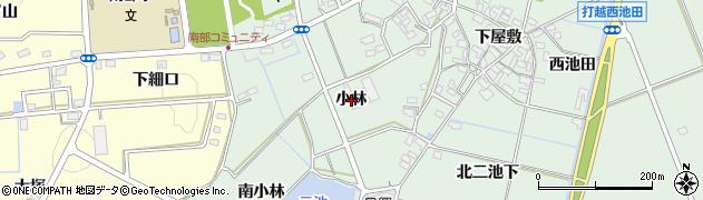 愛知県みよし市打越町(小林)周辺の地図