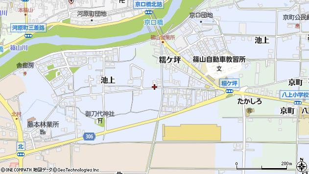 〒669-2436 兵庫県丹波篠山市池上の地図