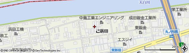 愛知県名古屋市緑区大高町(己新田)周辺の地図
