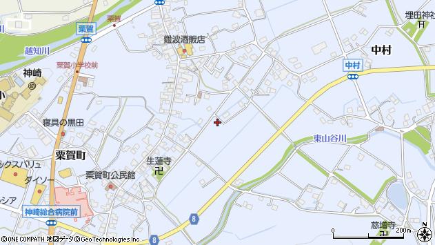 〒679-2414 兵庫県神崎郡神河町粟賀町の地図