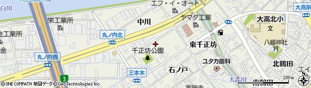 愛知県名古屋市緑区大高町(西千正坊)周辺の地図