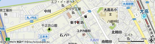 愛知県名古屋市緑区大高町(東千正坊)周辺の地図