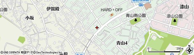 ミルポア周辺の地図