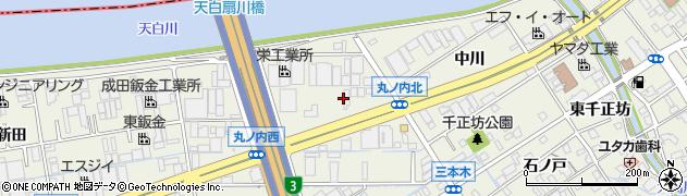 愛知県名古屋市緑区大高町(丸ノ内)周辺の地図