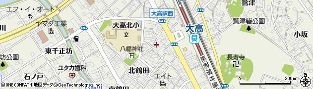 愛知県名古屋市緑区大高町(下熊瀬)周辺の地図