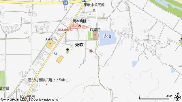 〒669-2202 兵庫県丹波篠山市東吹の地図