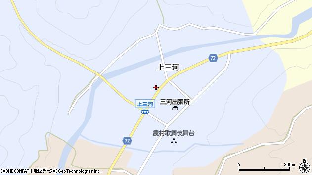 〒679-5225 兵庫県佐用郡佐用町上三河の地図