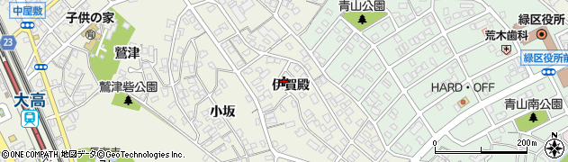愛知県名古屋市緑区大高町(伊賀殿)周辺の地図