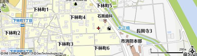 大収穫周辺の地図