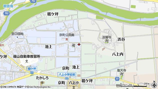 〒669-2438 兵庫県丹波篠山市京町の地図