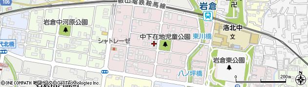 京都府京都市左京区岩倉三笠町周辺の地図