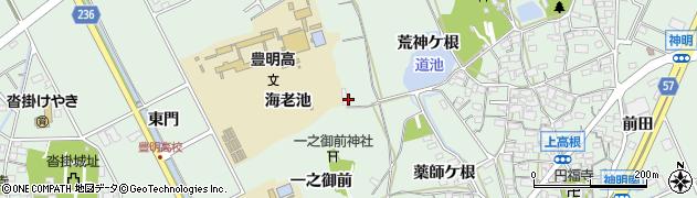愛知県豊明市沓掛町(荒神ケ根)周辺の地図