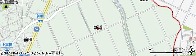 愛知県豊明市沓掛町(新道)周辺の地図