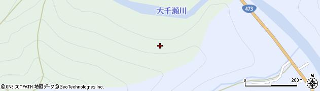 愛知県北設楽郡東栄町川角上ノ山周辺の地図