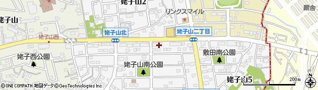愛知県名古屋市緑区姥子山周辺の地図
