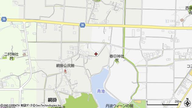 〒669-2205 兵庫県丹波篠山市網掛の地図