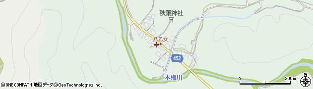 京都府南丹市園部町埴生(三反田)周辺の地図