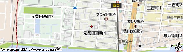 愛知県名古屋市南区元柴田東町4丁目11周辺の地図