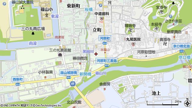 〒669-2326 兵庫県丹波篠山市小川町の地図