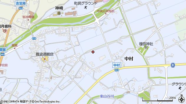 〒679-2413 兵庫県神崎郡神河町中村の地図