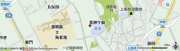 愛知県豊明市沓掛町周辺の地図
