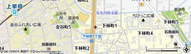 居酒屋吉むら周辺の地図