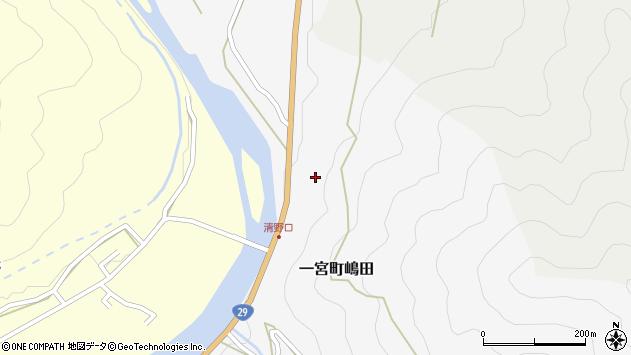 〒671-4136 兵庫県宍粟市一宮町嶋田の地図