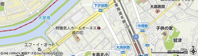 愛知県名古屋市緑区大高町(上塩田)周辺の地図