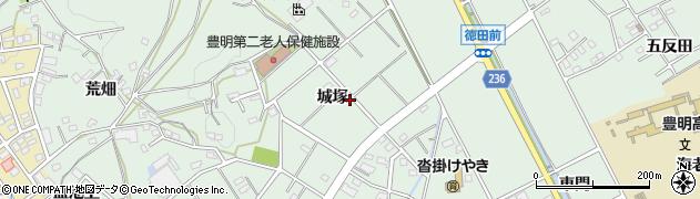 愛知県豊明市沓掛町(城塚)周辺の地図