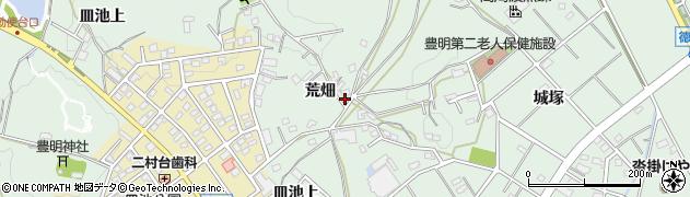 愛知県豊明市沓掛町(荒畑)周辺の地図