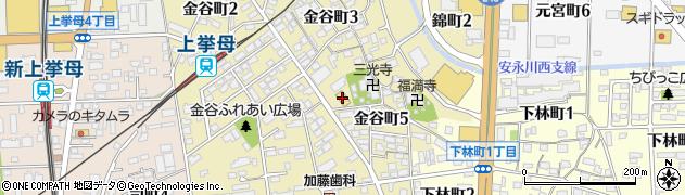 本家かまどや 金谷町店周辺の地図